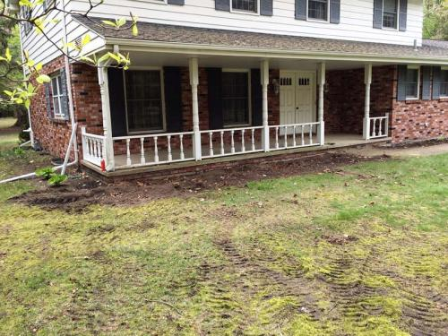 Removing bushes 2 - After